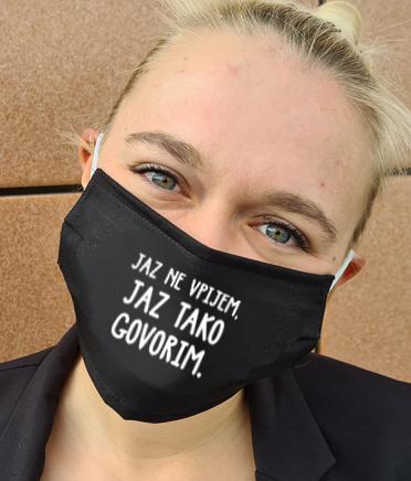 Obrazna maska jaz ne vpijem