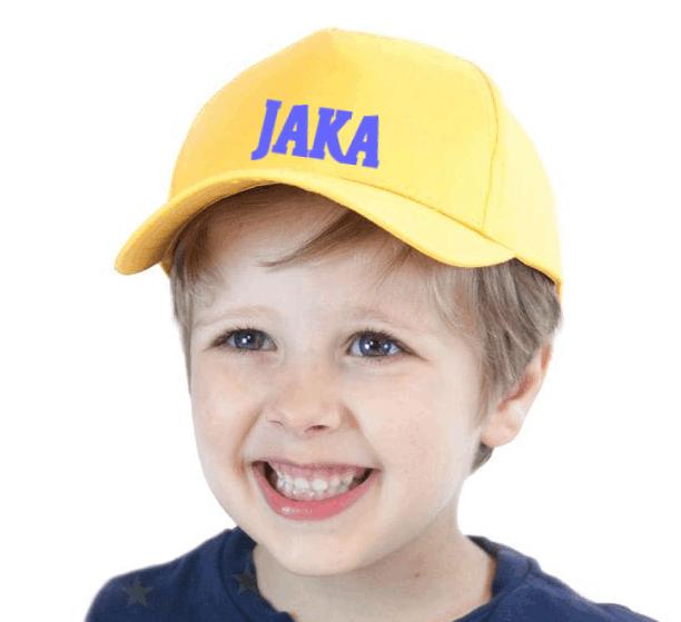 Otroška kapa z imenom po želji