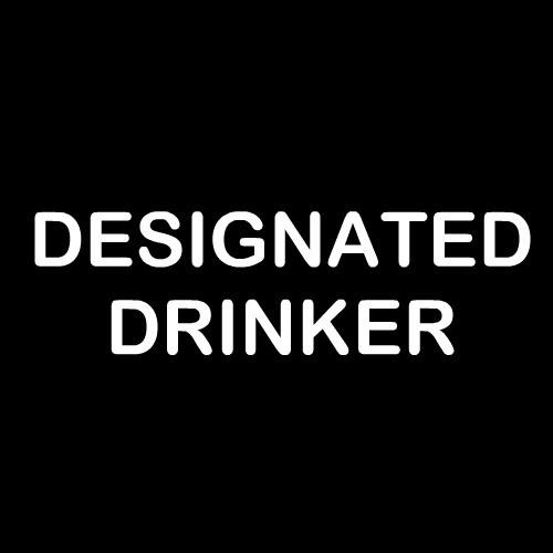 Smešni predpasnik designated drinker