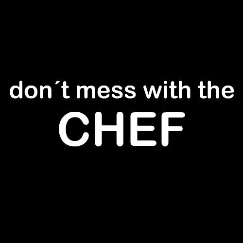 Smešni predpasnik do not mess with the chef