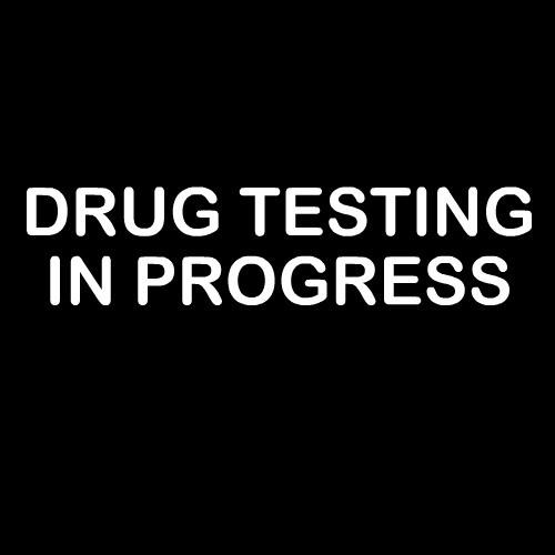 Smešna majica drug testing in progress