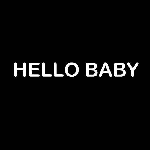 Smešna majica hello baby
