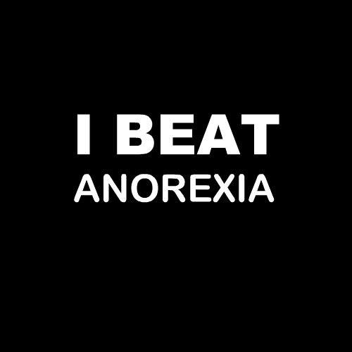 Smešna majica I beat anorexia