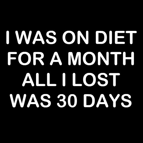 Smešni predpasnik i was on a diet for a month and all i lost was 30 days