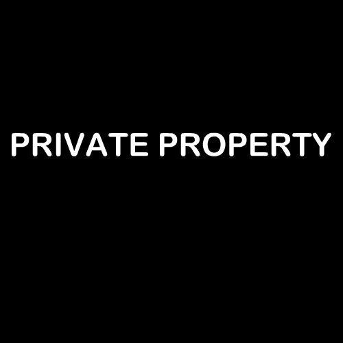 Smešna majica private property