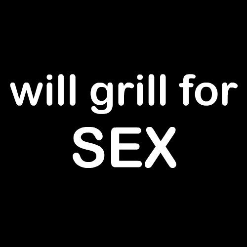 Smešni predpasnik will grill for sex