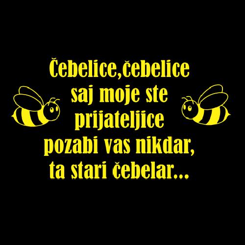 Smešni predpasnik čebelice čebelice