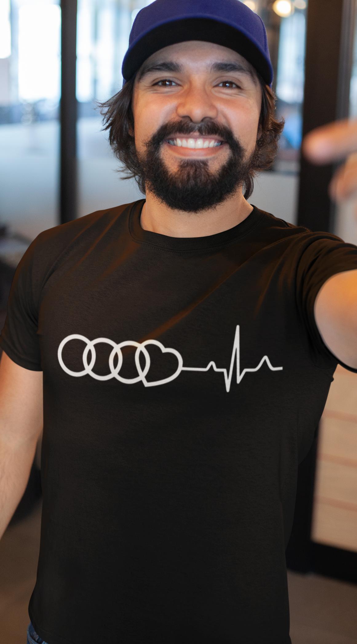 Smešna majica utrip I LOVE AUDI