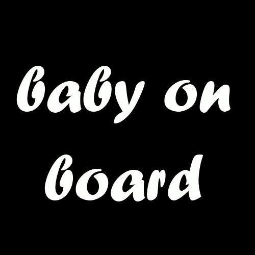Majica za nosečnice baby on board