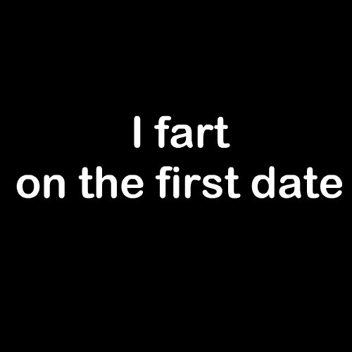 Smešna majica i fart on the first date