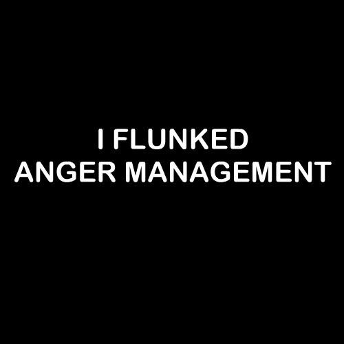 Smešna majica i flunked anger management