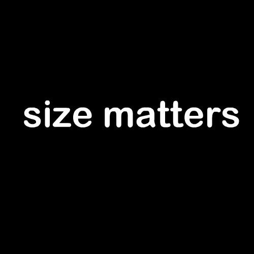 Smešna majica size matters