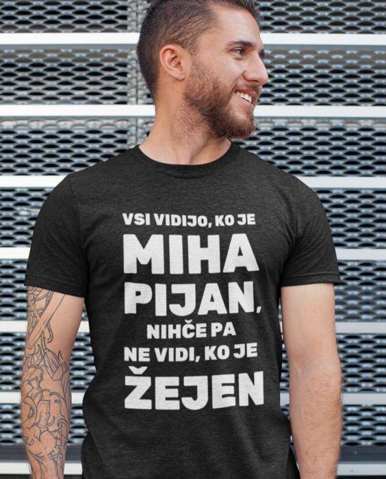Smešna majica žejen