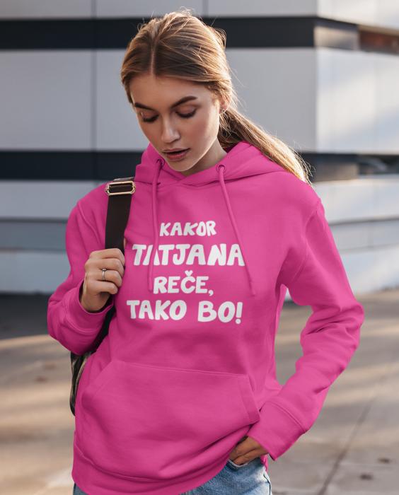Zabavni pulover kakor rečem tako bo