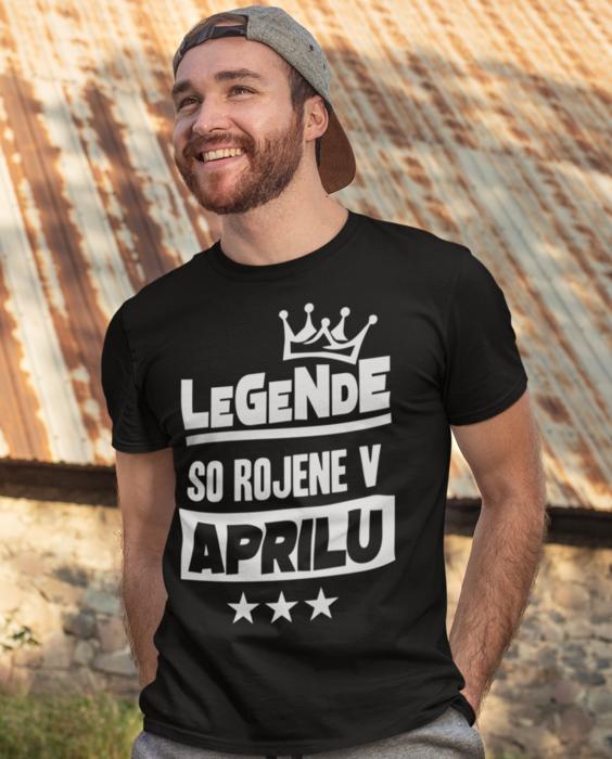 Smešna majica legende so rojene v MESEC PO ŽELJI