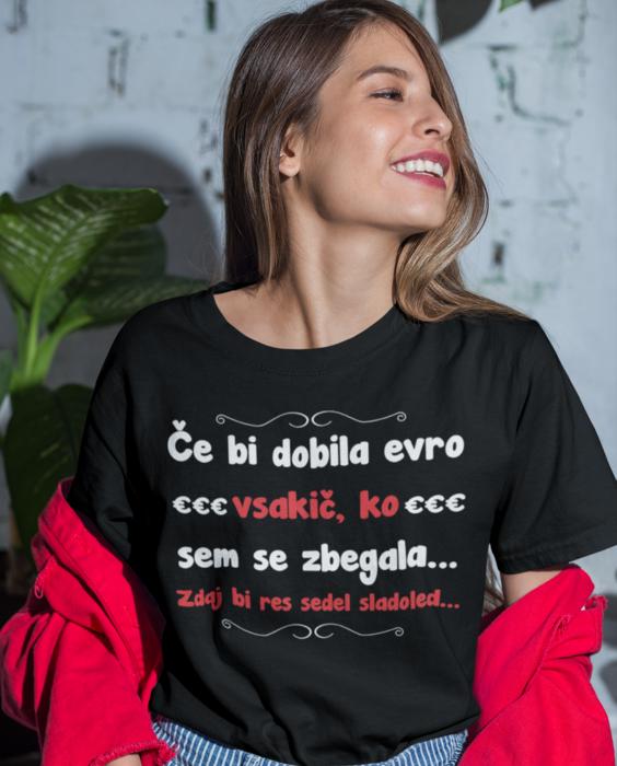Smešna majica zbegana