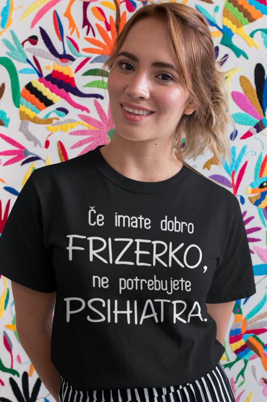 Smešna majica frizerka psihiater