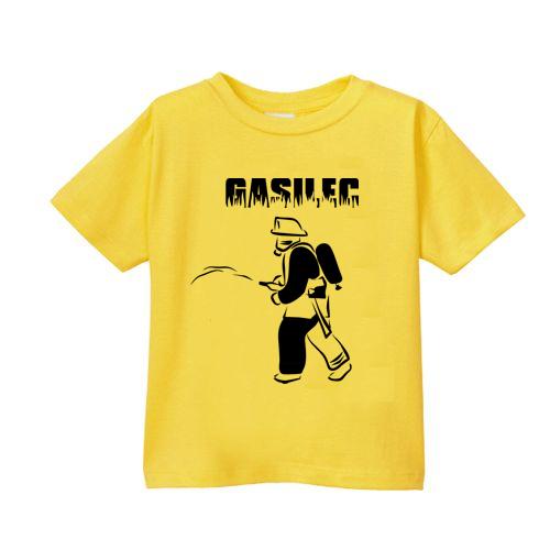 Smešna otroška majica gasilec