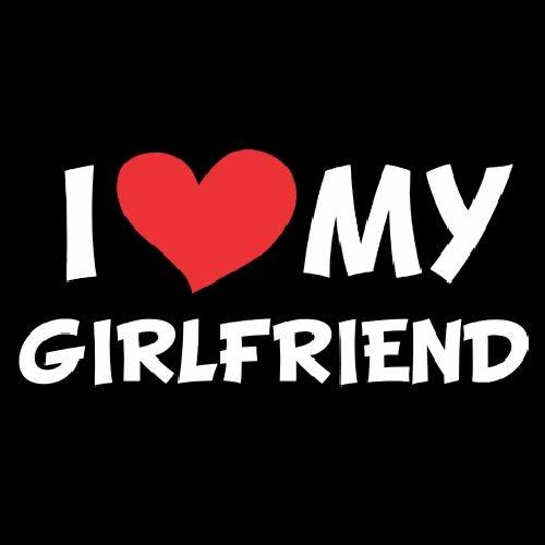Smešna majica I love my girlfriend