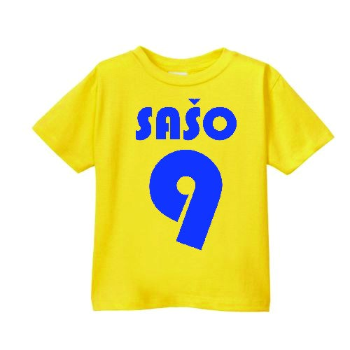 Smešna otroška majica otroški športni dres