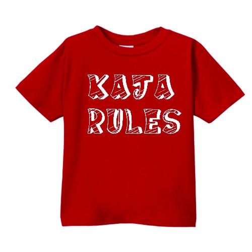 Smešna otroška majica IME PO ŽELJI rules