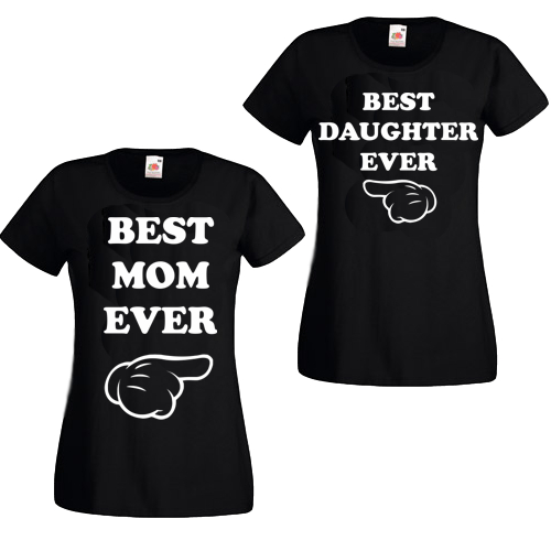 Majica KOMPLET best mom daughter ever