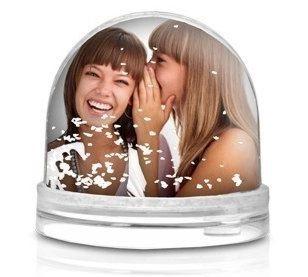 Snežena krogla s sliko po želji