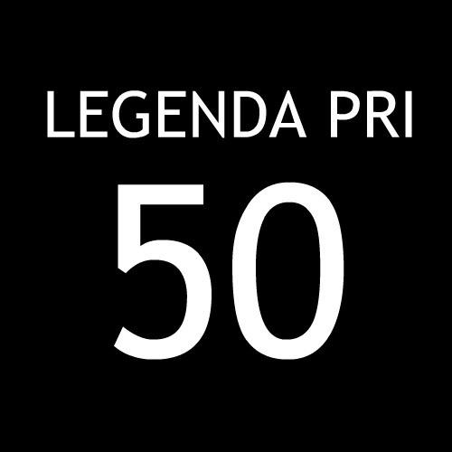 Smešna majica legenda pri 50