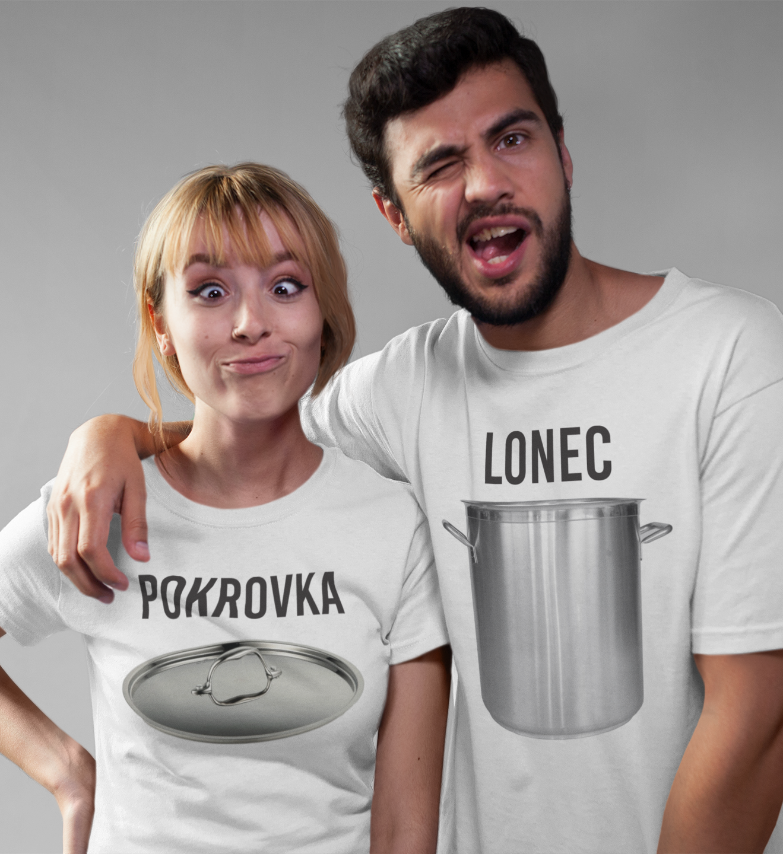 Majica KOMPLET lonec pokrovka