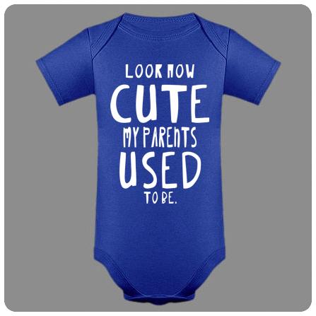Otroški bodi cute parents