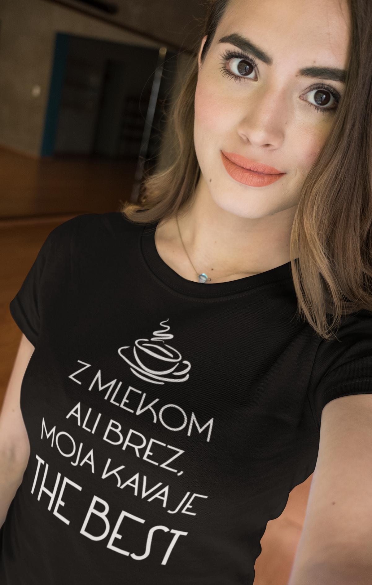Smešna majica moja kava je the best