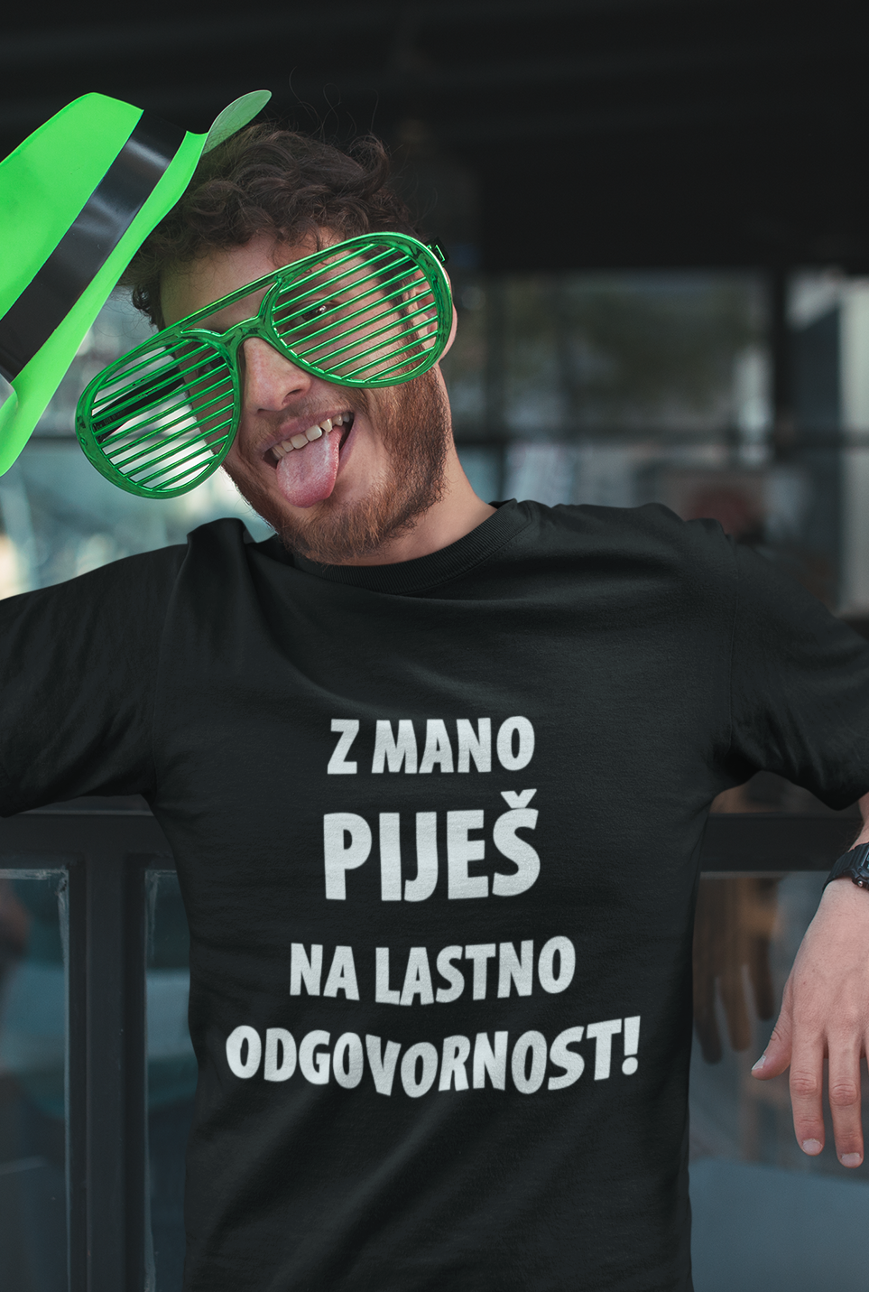 Smešna majica na lastno odgovornost