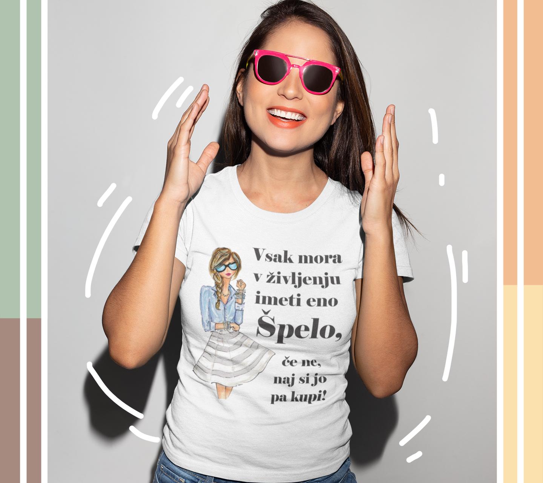 Smešna majica naj si jo kupi