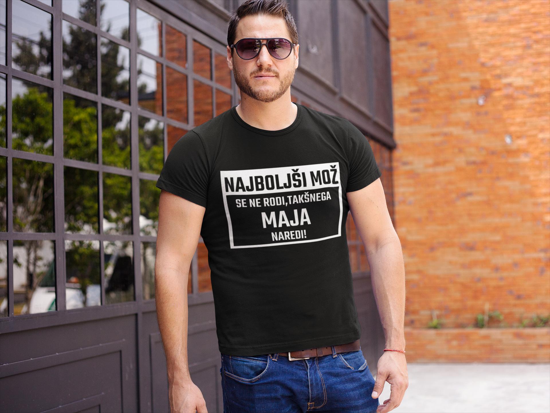 Smešna majica najboljši mož se ne rodi