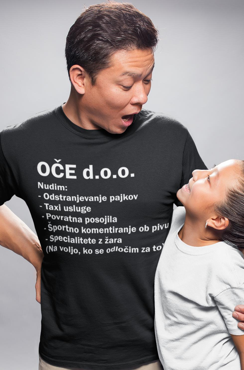 Smešna majica OČE d.o.o.