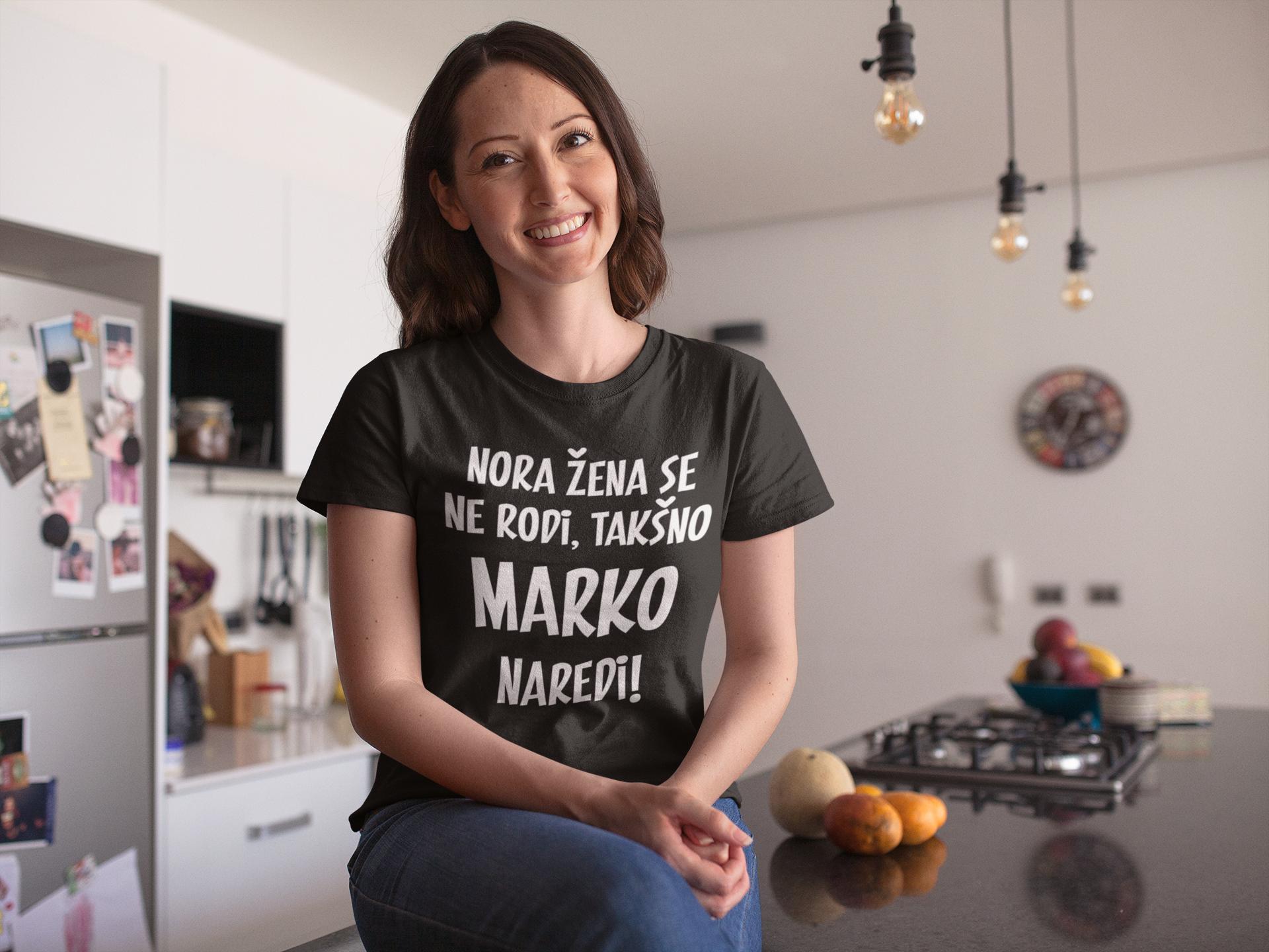 Smešna majica NORA ŽENA