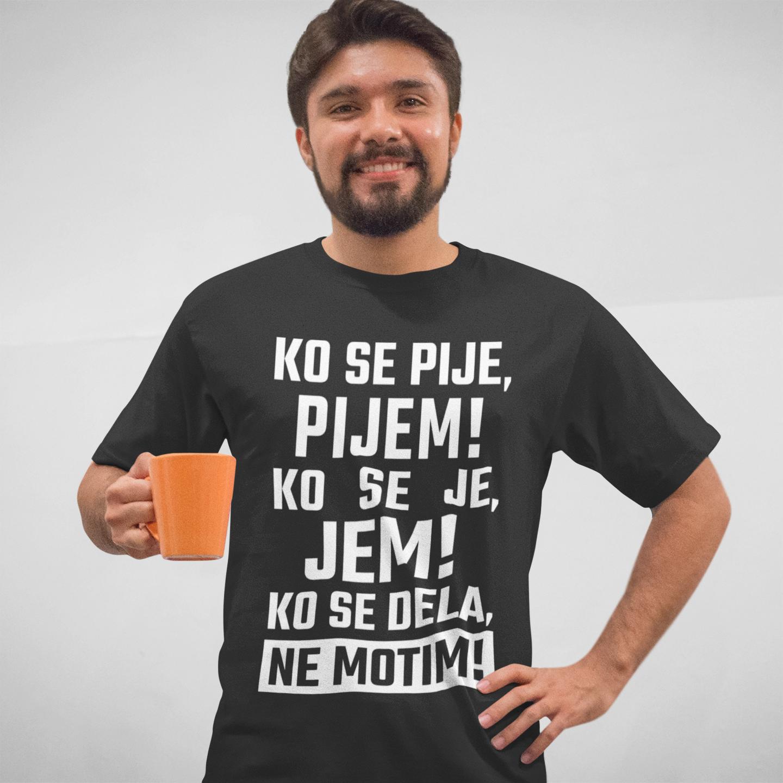 Smešna majica ne motim