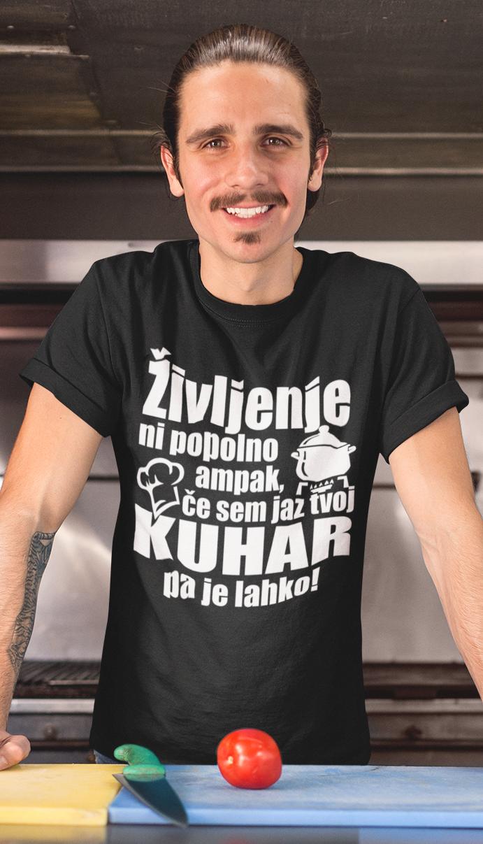 Smešna majica popoln kuhar