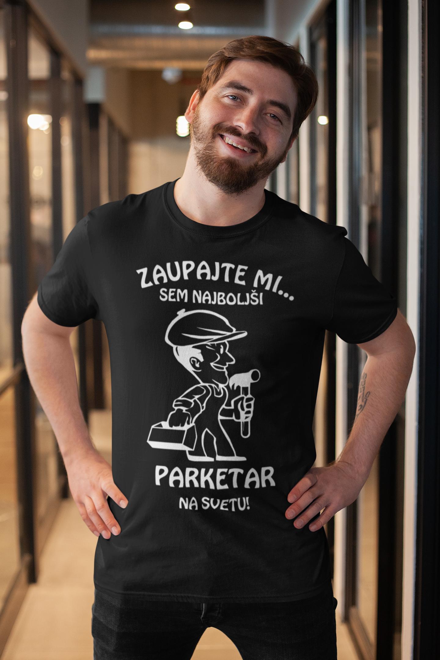 Smešna majica zaupajte mi (POKLIC PO ŽELJI)