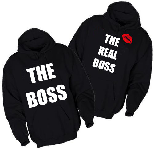 Pulover KOMPLET Boss the real boss