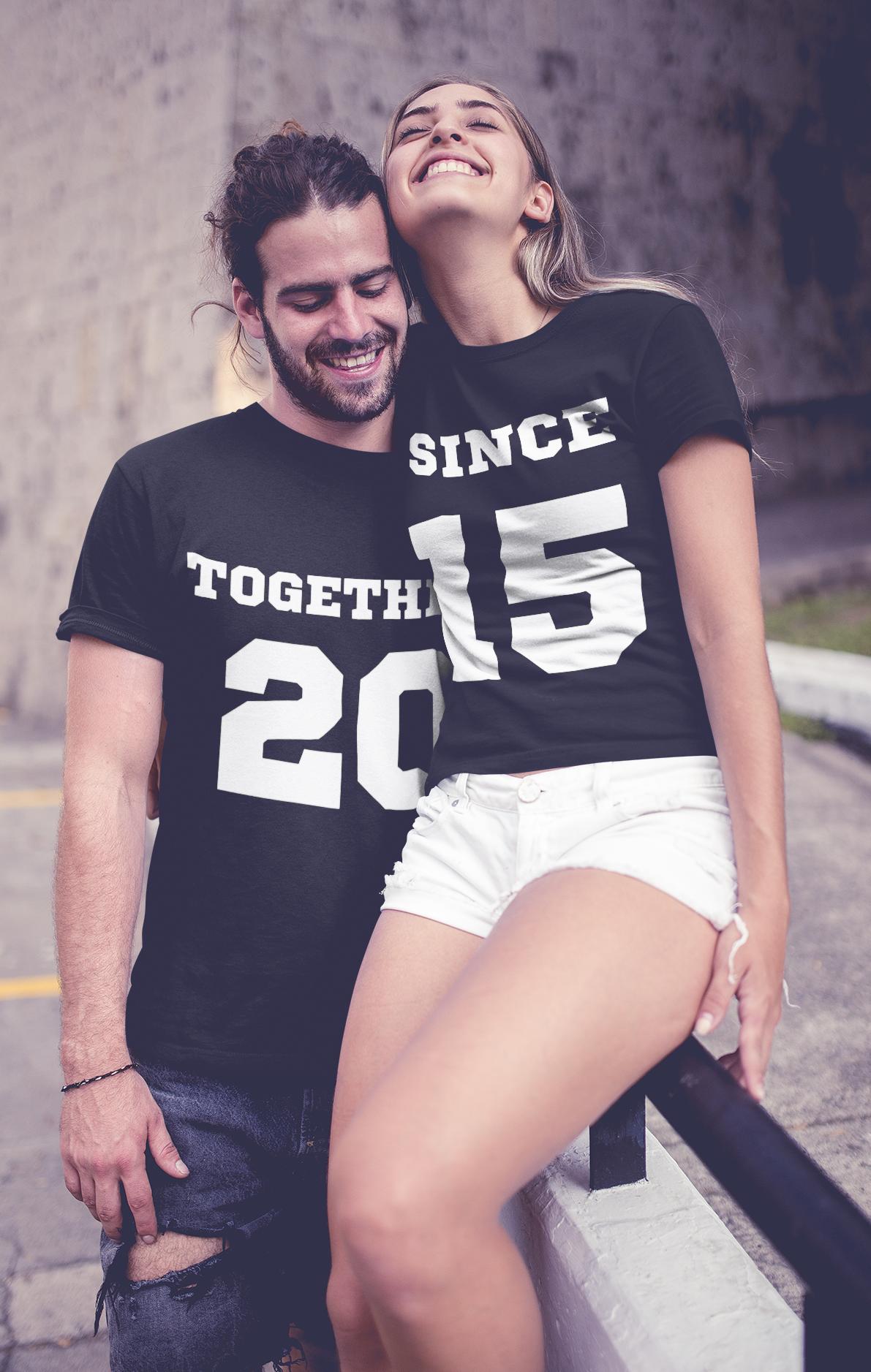 Majica KOMPLET together since LETNICA PO ŽELJI