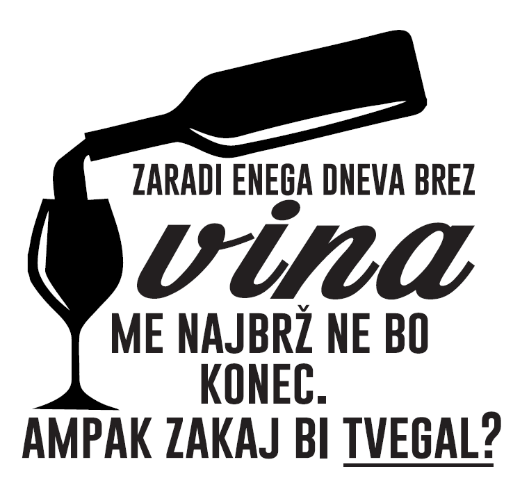 Smešna majica dan brez vina