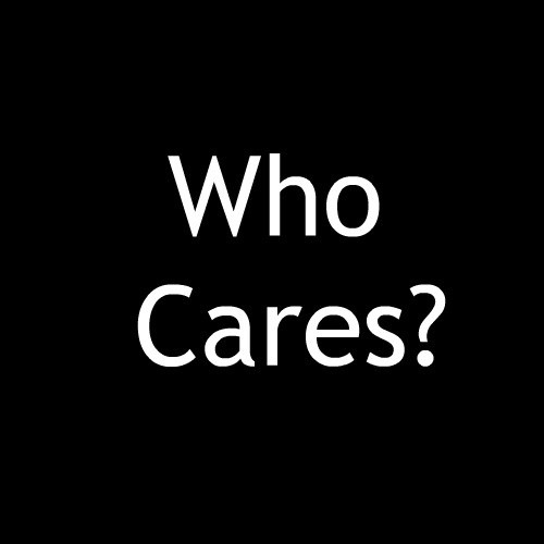Smešna majica who cares