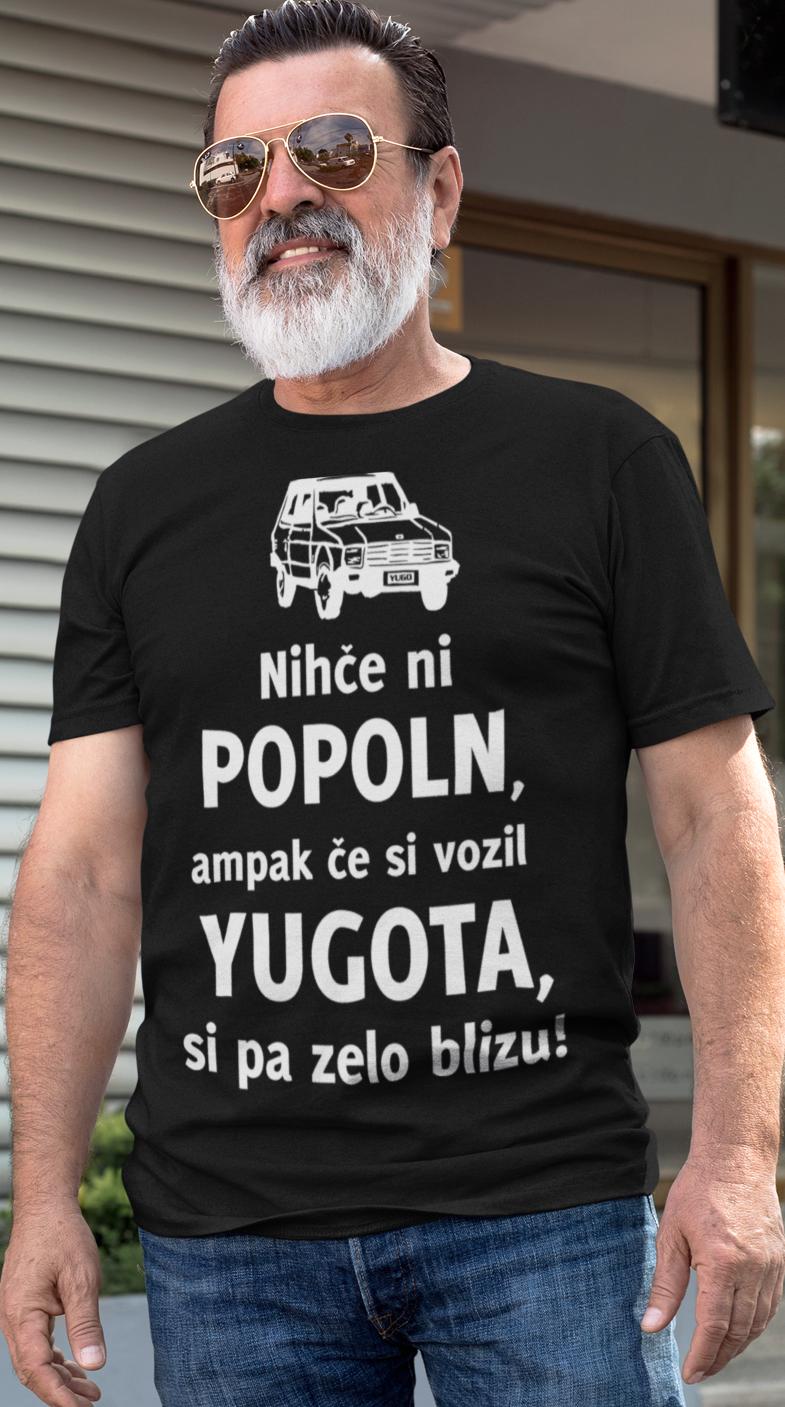 Smešna majica popoln ker sem vozil (znamka avta po želji)