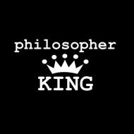 Smešna majica philosopher king