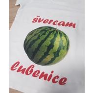 Majica za nosečnice švercam lubenice
