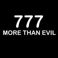 Smešna majica 777 more than evil