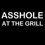 Smešni predpasnik asshole at the grill