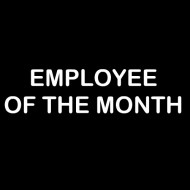 Smešna majica employee of the month