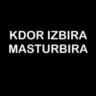 Smešna majica kdor izbira masturbira